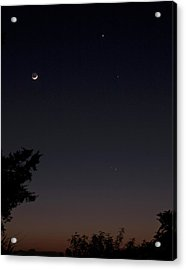 Acrylic Print featuring the photograph The Dance Of The Planets by Odille Esmonde-Morgan