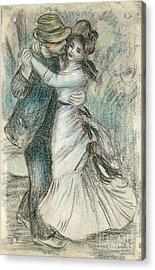 The Dance Acrylic Print by Pierre Auguste Renoir