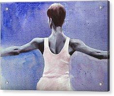 The Dancer Acrylic Print by Fiona Jack
