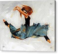 The Dancer No. 5 Acrylic Print