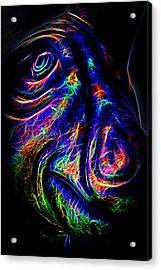 The Dapper Dino Acrylic Print