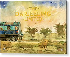 The Darjeeling Limited Poster Film Wes Anderson Acrylic Print