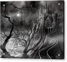 The Dark Castle Acrylic Print