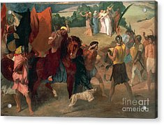 The Daughter Of Jephthah Acrylic Print