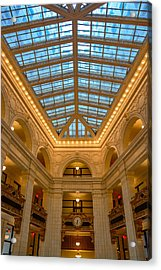 The David Whitney Building Acrylic Print