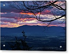 Acrylic Print featuring the photograph The Dawn Of 2017 by Lara Ellis