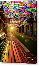 The Dawn Of A Colorful Day Acrylic Print by Marco Oliveira