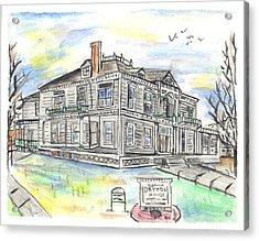 The Dayton House Acrylic Print