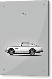 The Db5 Acrylic Print by Mark Rogan