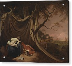 The Dead Soldier  Acrylic Print by Joseph Wright