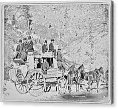 The Deadwood Coach Acrylic Print by John Feiser