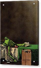 The Death Of La Grenouille Acrylic Print