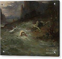 The Death Of Orpheus Acrylic Print