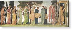 The Death Of The Year Acrylic Print by Walter Crane