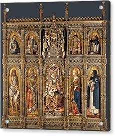 The Demidoff Altarpiece Acrylic Print