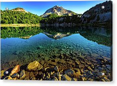 The Depths Of Lake Helen Acrylic Print