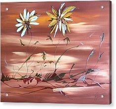 The Desert Garden Acrylic Print