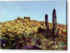 The Desert Place Acrylic Print