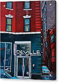 The Deville Acrylic Print by Reb Frost