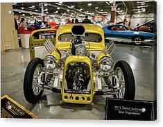 Acrylic Print featuring the photograph The Devils Beast by Randy Scherkenbach
