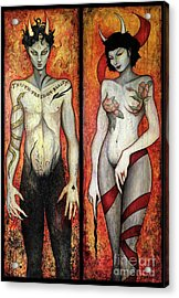 The Devils Acrylic Print by Dori Hartley