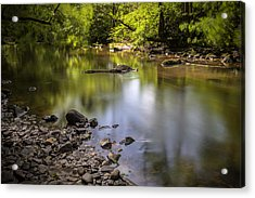 Acrylic Print featuring the photograph The Devon River by Jeremy Lavender Photography