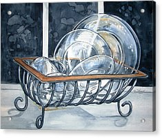 The Dishes Are Done Acrylic Print