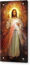 The Divine Mercy,  Jesus I Trust In You - 2 Acrylic Print