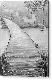 The Divine Path Acrylic Print