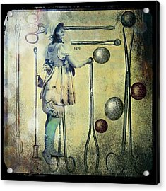Acrylic Print featuring the digital art The Doctor Will See You Now by Delight Worthyn