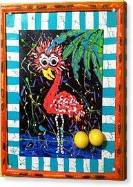 The Dodo Bird Acrylic Print by Doralynn Lowe
