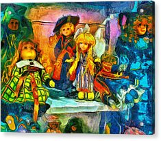 The Dolls Acrylic Print