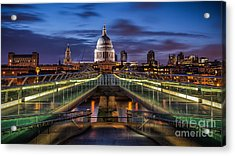 The Dome Acrylic Print by Giuseppe Torre