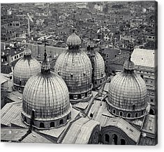 The Domes Of San Marco, Venice, Italy Acrylic Print