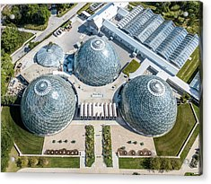Acrylic Print featuring the photograph The Domes by Randy Scherkenbach