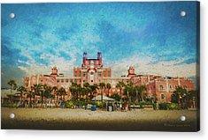 The Don Cesar Resort Acrylic Print