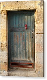 The Door And The Hand Acrylic Print by Yoel Koskas