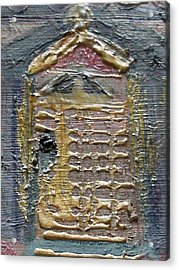 The Door Acrylic Print by Anne-Elizabeth Whiteway