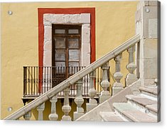 The Door By The Stairs. Acrylic Print by Rob Huntley