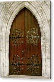 The Door Of Opportunity Acrylic Print