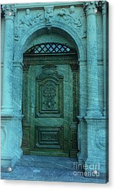 The Door To The Secret Acrylic Print by Susanne Van Hulst