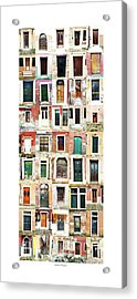 The Doors Of Murano Italy Acrylic Print
