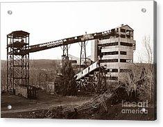 The Dorrance Coal Breaker Wilkes Barre Pennsylvania 1983 Acrylic Print