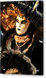 The Dotted Face Acrylic Print