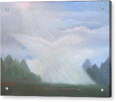 The Dove Cloud Acrylic Print by Rana Adamchick