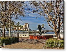 The Downtown Bradenton Waterfront Acrylic Print
