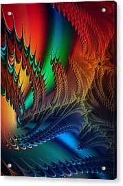 The Dragon's Den Acrylic Print by Kathy Kelly