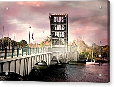 The Drawing Bridge Acrylic Print