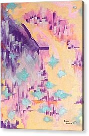 The Dream City Acrylic Print