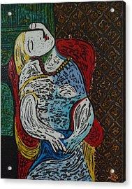 The Dream Walker -le Reve Zombi  Acrylic Print